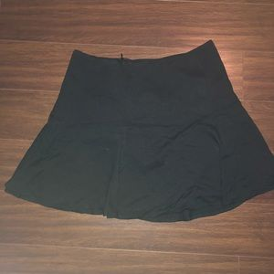 Black mini skirt Fvr21